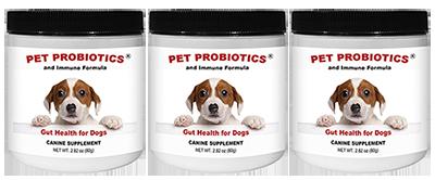 Pet Probiotics and Immune Formula    *** 3 Pack SPECIAL ***