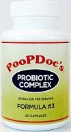 PoopDocs Formula #3 Super Strain Probiotic Complex 36 Billion per GRAM